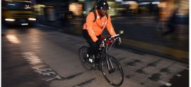 Vigilante Bicyclist Rocks the Streets of London